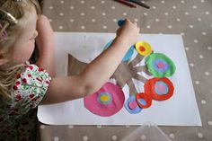 Create with your hands: Kid's Get Arty Link-Up: Kandinsky Art Trees