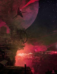 See more Sci Fi at http://www.warpedspacescifi.com/