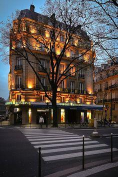 Tree silhouette in Paris by arieldiaco, via Flickr