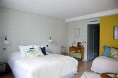 Hotel Henriette Paris I Photo Gallery - Papier peint Maj de Sandberg