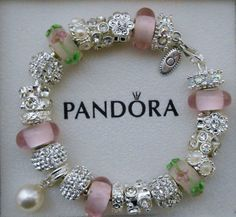 Authentic Pandora Bracelet or non-branded European charm bracelet~Free Shipping~Pandora box included!