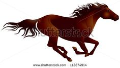 Running Horse Vector Stock Photos, Images, & Pictures | Shutterstock
