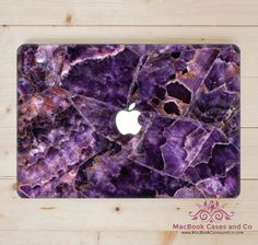 Purple Marble MacBook Case. Macbook Case by MacBookCasesandCo on Etsy