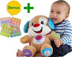 LAUGH and LEARN FISHER PRICE PUPPY FINALLY AN EDUCATIONAL TOY BUNDLE THAT WILL HELP YOU RAISE THE NEXT EINSTEINFisher Price Laugh and Learn Smart Stages Puppy along with another Educational Foam Puzzl...