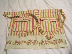 sweet apron from vintage pillowcase tutorial by jnmerrit