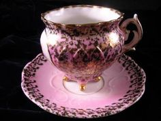 Antique c. 1900 Porcelain Footed Tea Cup & Saucer Courting Couple ...