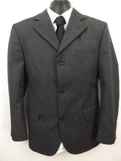 Christopher Morris London Mens Sport Coat,Size 40R,3 Button,Wool Blend,3 Blend #ChristopherMorris #ThreeButton
