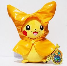 Pokemon Pikachu Plush Doll Pokémon Cosplay Hat Figure Toy Gift New FREE Shipping