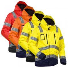 "HIGH VIS FUNKTIONSJACKE ""4837"" - BLAKLÄDER® #Blåkläder #warnschutz #warnschutzjacke #warnschutzkleidung"