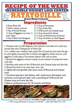 Ratatouille Ideal Protein Tips and Recipes from Incredible Weight Loss Center - Page 6 - 3 Fat Chicks on a Diet Weight Loss Community Ideal Protein, High Protein, Nutrition World, Diet And Nutrition, Asparagus Chicken Stir Fry, Cooking Recipes, Healthy Recipes, Protein Recipes, Keto Recipes