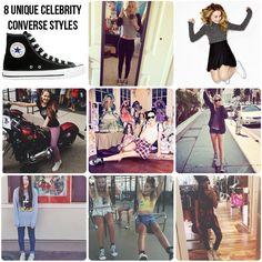 8 Stars Rock Unique Converse Styles: Bea Miller, Sabrina Carpenter, Kelli Berglund, Katy Perry, Rydel Lynch, Piper Curda, Olivia Holt, China Anne McClain