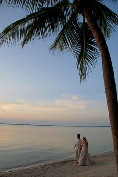 Romantic Photo Session bonus - just you and your bride on the beach at sunset :)  Hilton Key Largo Resort.  Photography by McLaughlinPhotoVideo.com