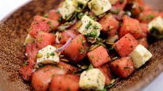 Four late summer salads - Witt chef tutor Graeme Cawsey serves up four fabulous late summer salads.
