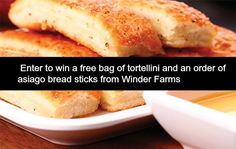 Free pasta and breadsticks for National Tortellini Day