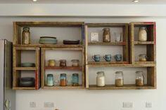 Love this modular kitchen storage