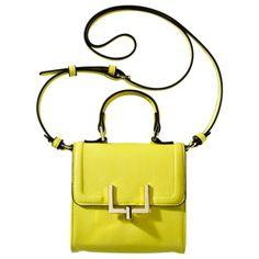 Neon Yellow Crossbody Bag - Target