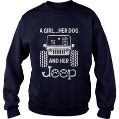 A Girl Her Dog And Her Jeep Shirt   A Girl Her Dog And Her Jeep Shirt is a awesome shirt about topic A Girl Her Dog And Her Jeep that our team designed for you. LIMITED EDITION with many style as longsleeve tee, v-neck, tank-top, hoodie, youth tee. This shirt has different color and size, click button bellow to grab it.   https://kuteeboutique.com/shop/girl-dog-jeep-shirt/