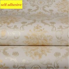==> [Free Shipping] Buy Best Self adhesive Damask Wallpaper Roll papel de parede auto colante PVC 10m papel de parede adesivo TV background Living Room zk26 Online with LOWEST Price | 32248928184