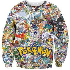 Pokemon invasion sweater