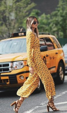 Jumpsuits will help you achieve a breezy daytime look in an instant.
