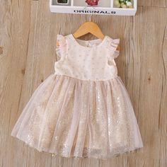 Gold Dust Girls Dresses, Flower Girl Dresses, Dress Up, Wedding Dresses, Gold, Fashion, Dresses Of Girls, Bride Dresses, Moda