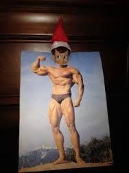 elf on the shelf idea lol