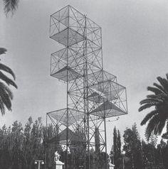 AR, Mendoza, Tower of America. Architect César Jannello and Mauricio Kagel with Gerardo Clusellas, 1954.