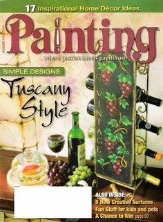 Painting Aug 2006 - TereBauer 1 - Picasa Web Albums...FREE MAGAZINE!!