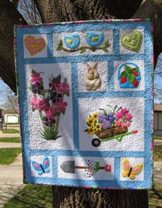 Stitching With 2 Strings: Quilt Along 2015