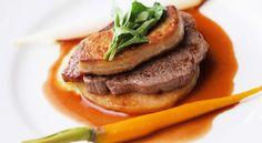 牛フィレ肉とフォアグラのマデラソース添えレシピ | ボブとアンジー