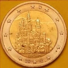 GERMANY Feature: Federal state of Bavaria Issuing volume: 30 millions coins Issuing date: January 2012