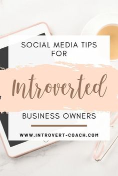 If you're an introvert business owner, these #socialmedia tips are for you!