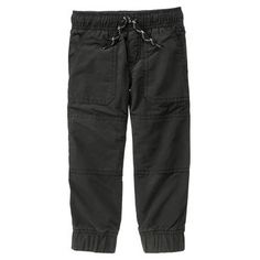 Toddler Boys Black The Gymster™ Pant by Gymboree