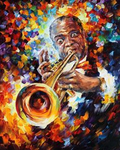 Louis Armstrong - Leonid Afremov