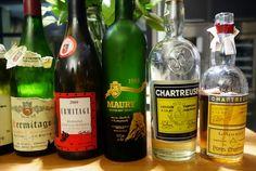"""Dégustation @FrancoisAudouze avec une #chartreuse de Tarragone """"riche comme un bouquet de fleurs de printemps"""""""