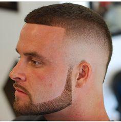 Skin fade n beard