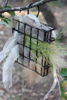 Wildlife Projects for Kids: Nesting Materials
