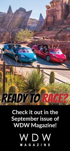 """In this month's """"WDW vs. Disneyland Throwdown"""",  we look at """"Test Track vs. Radiator Springs Racers"""".  What's your favorite?  