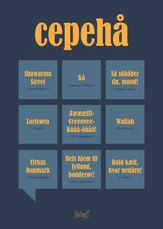 Cepehå Poster from Dialægt