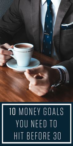 Not sure if you are managing your money correct? Here are 10 goals you should be setting in your 20s to get a hold of your financial future.