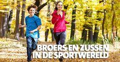 Broers en zussen in de sport  #sport #broer #zus