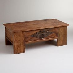 One of my favorite discoveries at WorldMarket.com: Ross Coffee Table: I simply love the quality and craftsmanship of this store