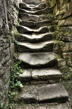 steps of faith. taking the first step even when you do not know where the stairs will lead Stairway To Heaven, Steps Of Faith, Escalier Design, Stone Stairs, Foto Top, Take The Stairs, Stair Steps, Abandoned Places, Pathways