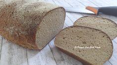 Kartoffelfaser Brot Rezept für ein Brotlaib ca. 850 g: 350 g Magerquark 150 g Joghurt 10 % Fett 4 Eier 2 EL Essig (Balsamico Essig hell, enthält allerdings Zucker) 100 ml Wasser 1,5 TL Salz 120 g...