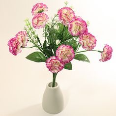 Pink carnation bouquet for your loved ones  #pink #carnation #bouquet #flowers #artificialflowers #artificial #giftsafterlife