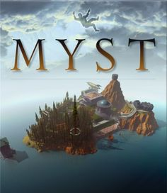 "The cover art for Cyan / Brøderbund's best-selling 1993 CD-ROM adventure / puzzle game, ""Myst"""