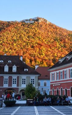 Brasov in Autumn Places Around The World, Travel Around The World, Around The Worlds, Places To Travel, Travel Destinations, Places To Go, Holiday Destinations, Mall Of America, North America