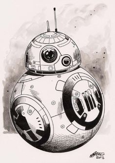 BB-8 by David Golding