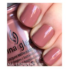 China Glaze Capitol Colours Hunger Games Nail Polish Swatches & Review... ❤ liked on Polyvore