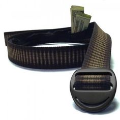 Bison Designs Crescent Money Belt - 38mm (starting at $18)